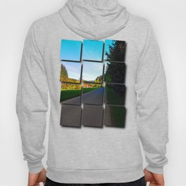 Country road on a spring afternoon | landscape photography Hoody