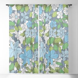 My Flower Design 11 Sheer Curtain