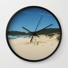 Sun in Brazilian Beach Wall Clock