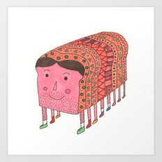 you're toast! Art Print
