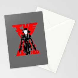 Black widow red Stationery Cards