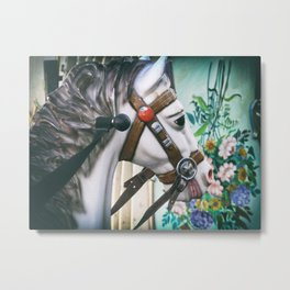 Carousel One Metal Print