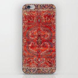 Sarouk Arak West Persian Carpet Print iPhone Skin