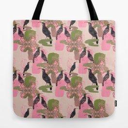 Huias and Proteas Tote Bag
