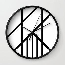 Bold Deco Wall Clock