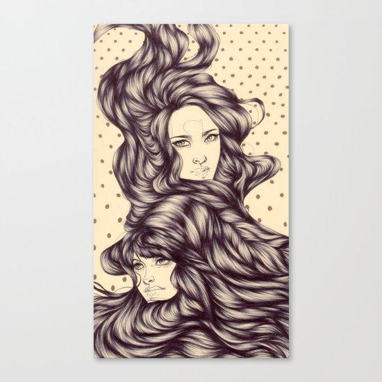 Hair Tide Canvas Print