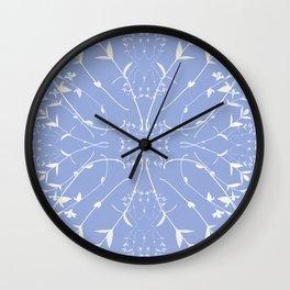 English porcelain Wall Clock