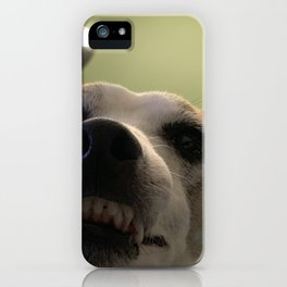 Don't make me come over there!!  iPhone Case