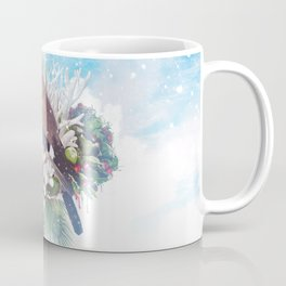 Floral Winter Magic Coffee Mug
