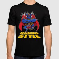 oppa ganon style Mens Fitted Tee X-LARGE Black