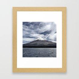 Volcano Osorno Framed Art Print