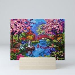 Japanese Garden Mini Art Print