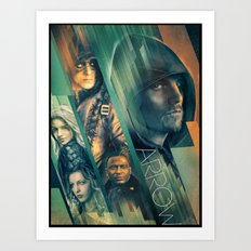 Arrow Art Print