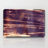 bleach iPad Cases featuring bleach scruffily / wet by seb mcnulty