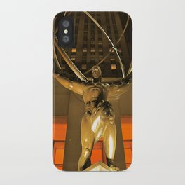30Rock and Atlas iPhone Case