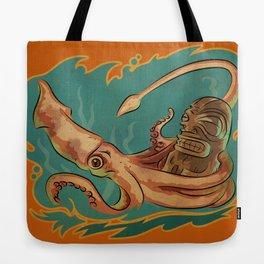 Squid & Tiki Tote Bag