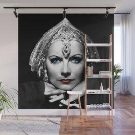 Greta Garbo Portrait Wall Mural