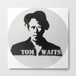 Tom Waits Painting Metal Print