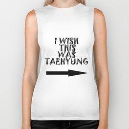 I wish this was Taehyung Biker Tank
