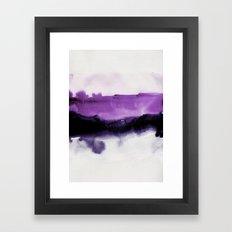 Two Tones Framed Art Print