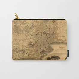 Map of Naples 1835 Carry-All Pouch