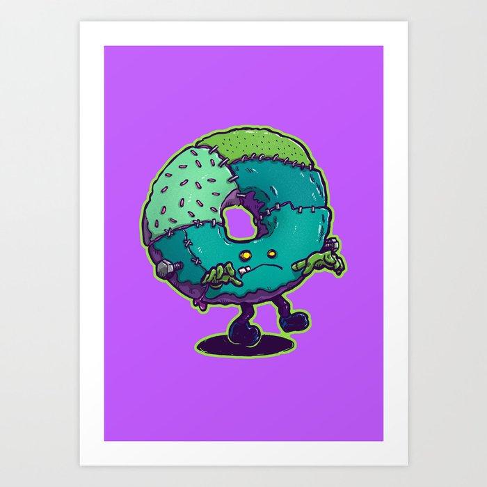 Composite Donut Art Print