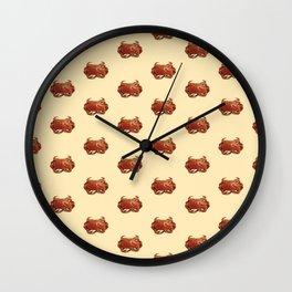 A la rica y sabrosa pata rusa Wall Clock