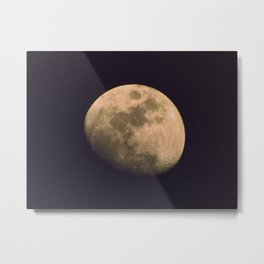 Roswell Moon Metal Print