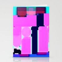 blur Stationery Cards featuring Blur by allan redd