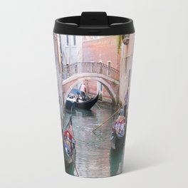 Exploring Venice by Gondola Travel Mug