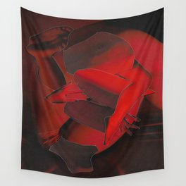 Redness Wall Tapestry