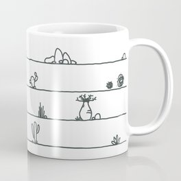 Stand Tall Under the Heat Coffee Mug