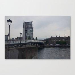 Belfast Bridges Canvas Print