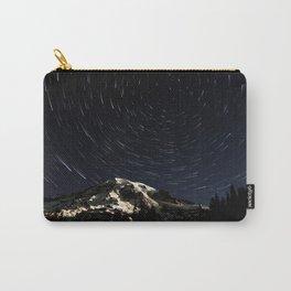Mount Rainier Star Trails  Carry-All Pouch