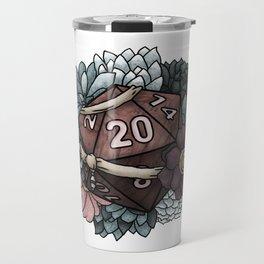 Monk Class D20 - Tabletop Gaming Dice Travel Mug