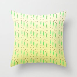 Flower of cactus 4 Throw Pillow