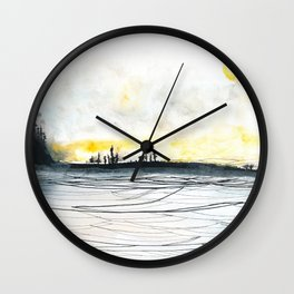 Carry Me Wall Clock