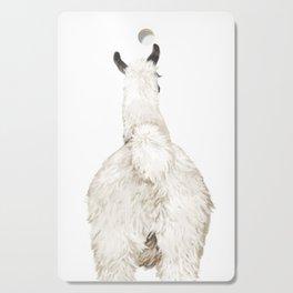 Llama Butt Cutting Board