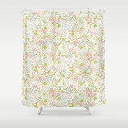 Flowery Garden Shower Curtain