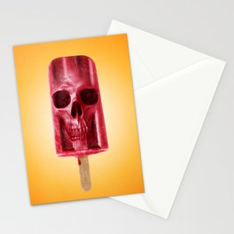 ICE SKULL Stationery Cards