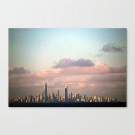 City over Sea Canvas Print