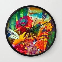 Courtship Wall Clock