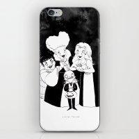 hocus pocus iPhone & iPod Skins featuring Hocus Pocus Nightmare by Claire Fauché