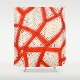 coral2 Shower Curtain