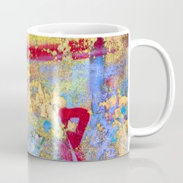 Textures in paint Coffee Mug