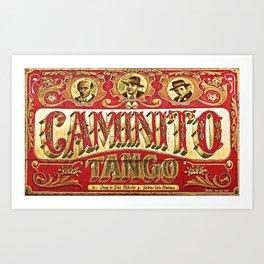 Traditional music of Argentina: Tango Art Print