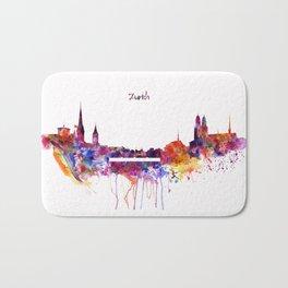 Zurich Skyline Bath Mat