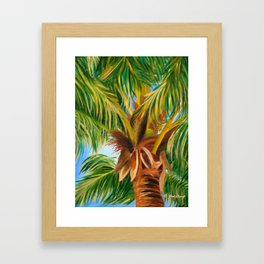 Majestic Palm Framed Art Print