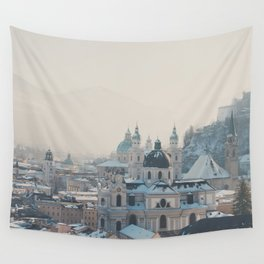 winter blues ... Wall Tapestry