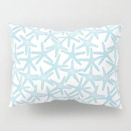 Light starfish pattern Pillow Sham